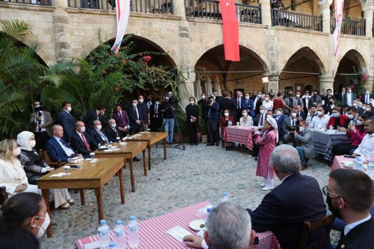 Son dakika: Cumhurbaşkanı Erdoğan KKTCde gençlerle buluştu Bugün de yarın da yanınızda olacağız