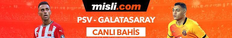 PSV - Galatasaray canlı bahis heyecanı Misli.comda