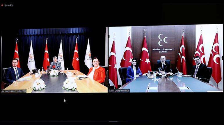AK Parti, MHP ve BBP video konferans yöntemiyle bayramlaştı