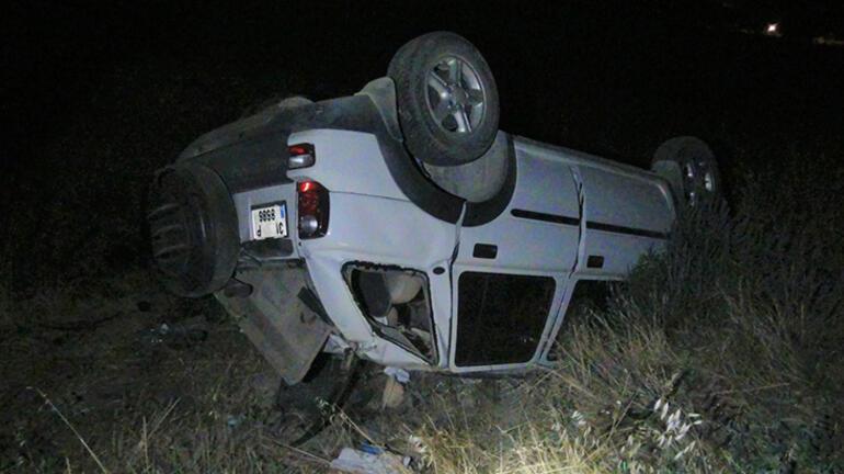 Otomobil traktöre çarptı: 3ü çocuk 9 yaralı var...