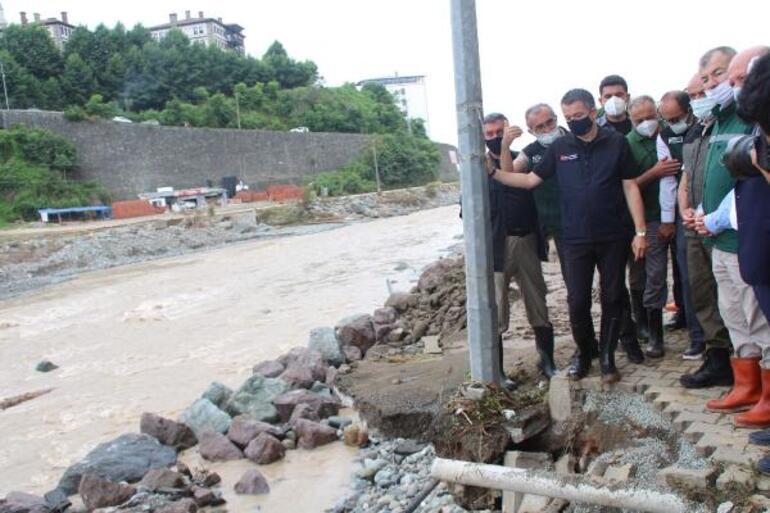 Bakan Pakdemirliden sel bölgesinde kritik uyarı