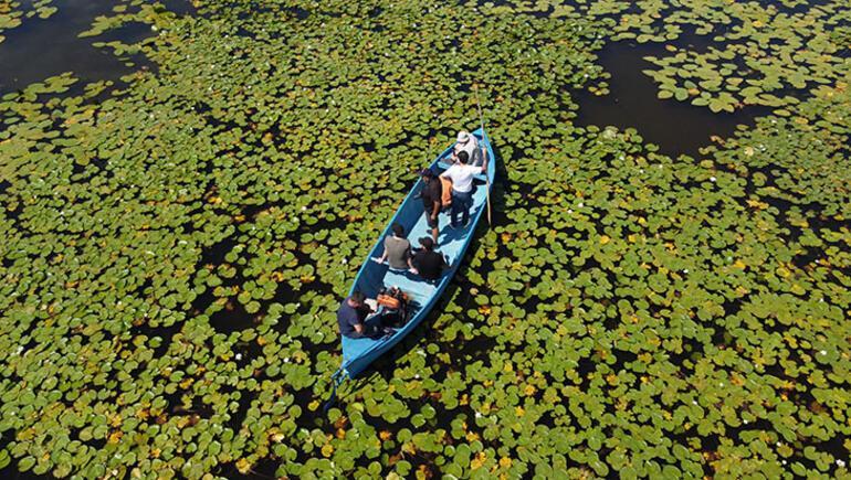 Beyşehir Gölünde fotojenik tekne turları