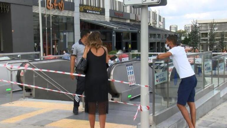 Son dakika... İstanbulda metroda klima kaynaklı patlama