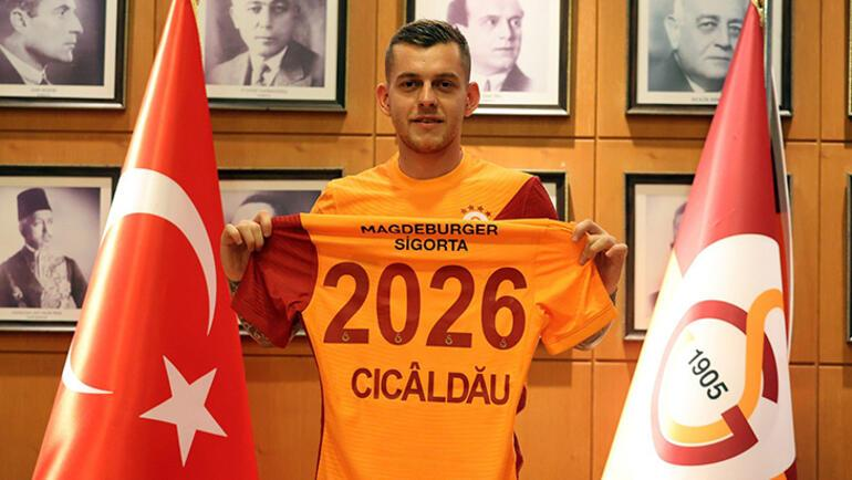 Son dakika - Galatasaray Alexandru Cicaldauyu KAPa bildirdi İşte maliyeti...