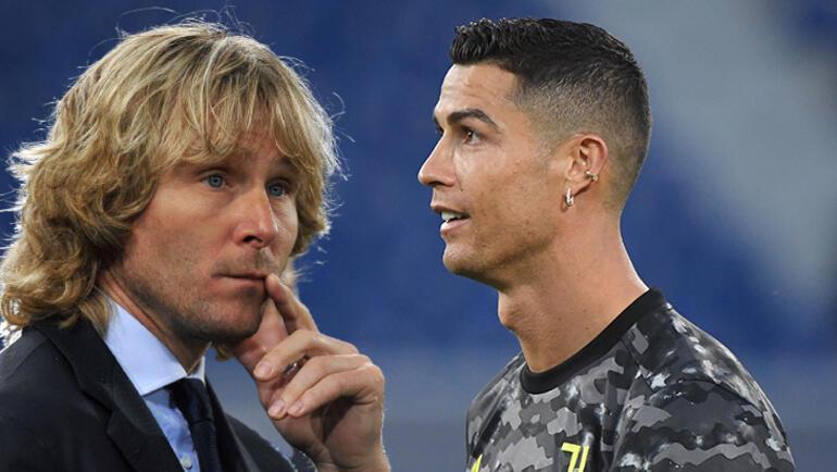 Son dakika -  Juventusta Pavel Nedved Crisitiano Ronaldo için noktayı koydu