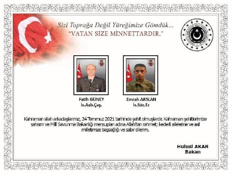 Son dakika: Şehitler için Gaziantepte acı veda