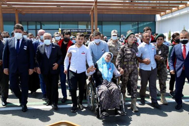Şehit Astsubay Çavuş Fatih Güneyin cenazesi memleketi Orduda toprağa verildi