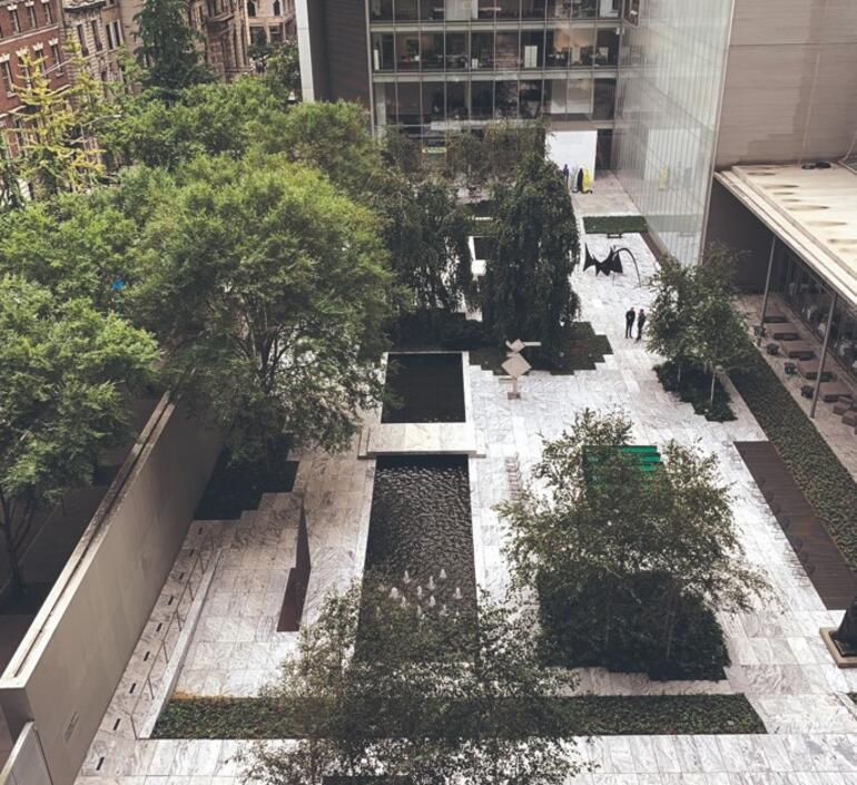 Çağdaş çatı bahçeleri
