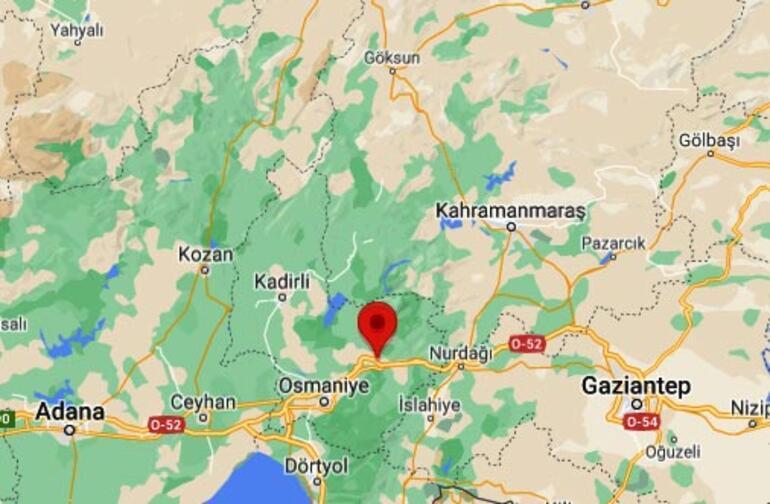 Son dakika haberleri: Osmaniyede korkutan deprem Büyüklüğü...