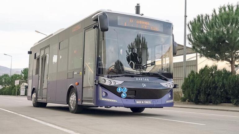 Otobüsten sonra otonom minibüs...
