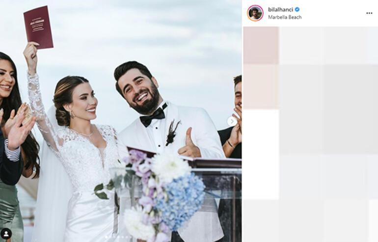 Sosyal medya fenomeni Bilal Hancı ile Esin Çepni evlendi