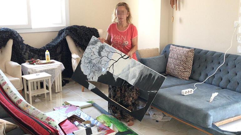 Ayrılığı kabullenemeyen sevgilisi elektrik süpürgesiyle dövdü