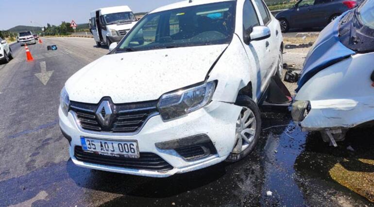 Manisada zincirleme kaza: 14 yaralı