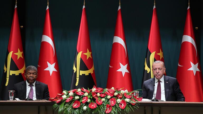 Son dakika: Angola ile 10 anlaşma imzalandı Erdoğan: İlk adımı attık