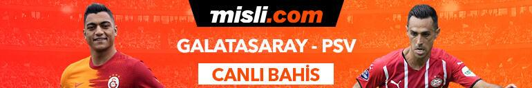 Galatasaray - PSV maçı Tek Maç ve Canlı Bahis seçenekleriyle Misli.com'da