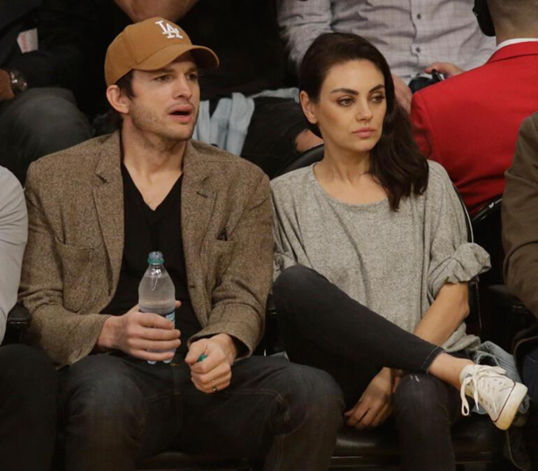 Mila Kunis ile Ashton Kutcherdan banyo itirafı