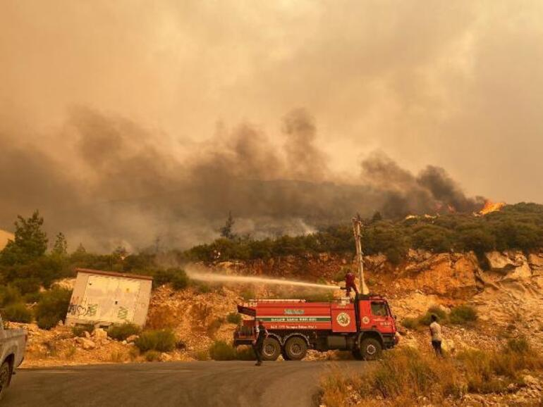 Orman yangınları devam ediyor Acı tablo sabah ortaya çıktı...