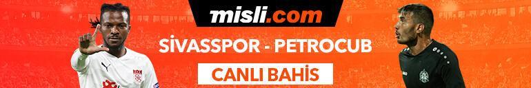 Sivasspor - Petrocub Konferans Ligi maçı heyecanı Misli.comda
