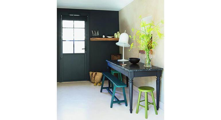 Evinizde siyah boya kullanacak kadar cesur musunuz