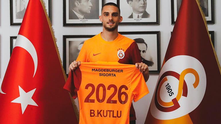 Son dakika - Berkan Kutlu, resmen Galatasarayda