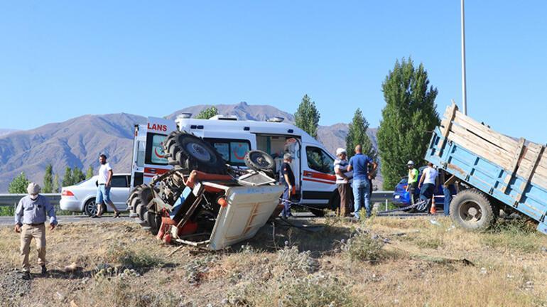 Erzincanda feci kaza 2 ölü, 6 yaralı