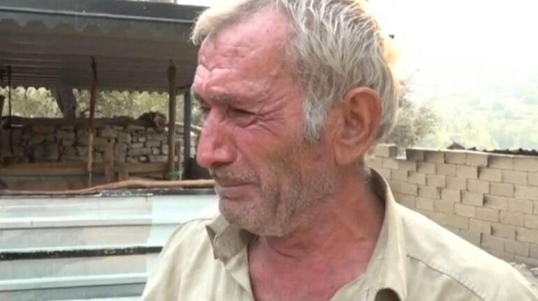 Manavgattaki yangın Yaşadıklarını gözyaşları içinde anlattı