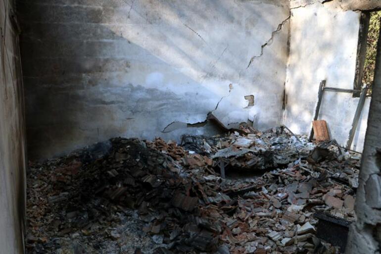 Yangında canını zor kurtardı: Yaşadığımız bir dehşetti