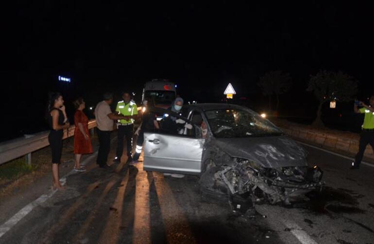 Bursada 3 aracın karıştığı kazada 1 kişi öldü