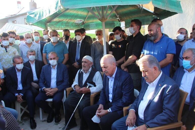 Kurtulmuş, Konyada silahlı saldırıda öldürülen 7 kişinin ailesine taziye ziyaretinde bulundu