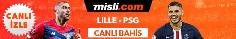 Lille - PSG maçı canlı bahis heyecanı Misli.comda