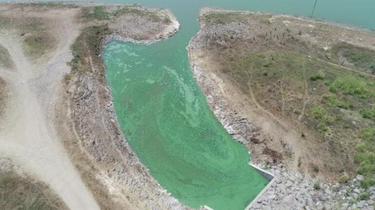 İSKİden Sazlıdere Barajındaki renk değişimiyle ilgili açıklama