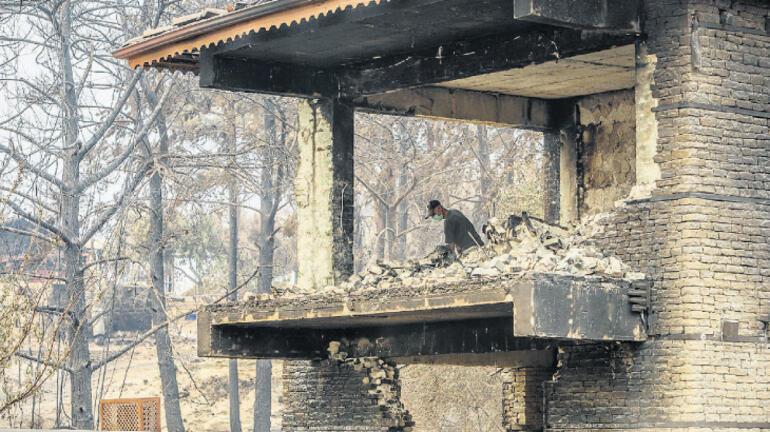 ABD'den orman yangınları konusunda farklı yorumlar