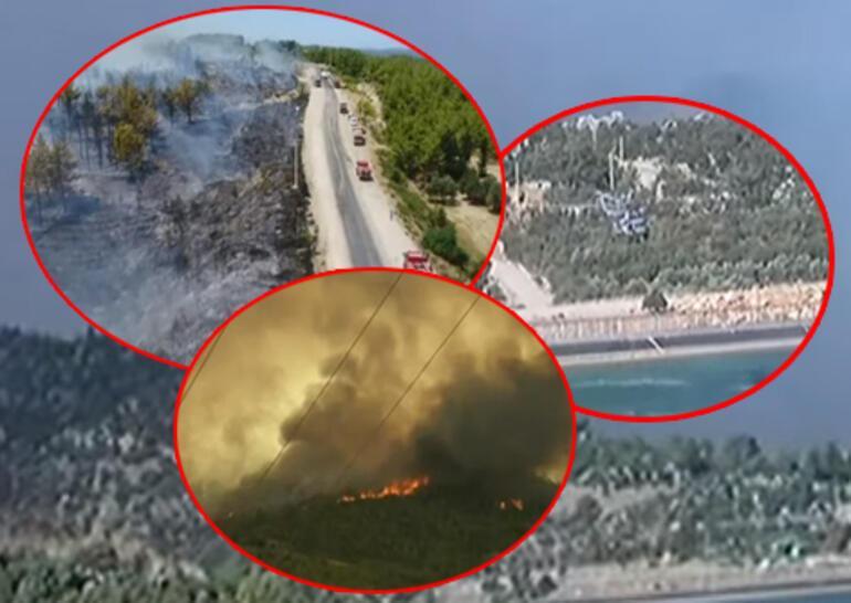 Son dakika haberi... Yangın kabusu 6. gününde Korkunç görüntüler geliyor