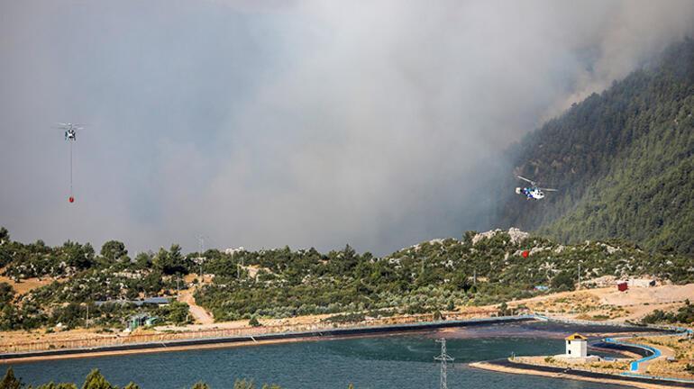 Manavgattaki büyük yangın 6. gününde Bir mahalle tamamen yandı