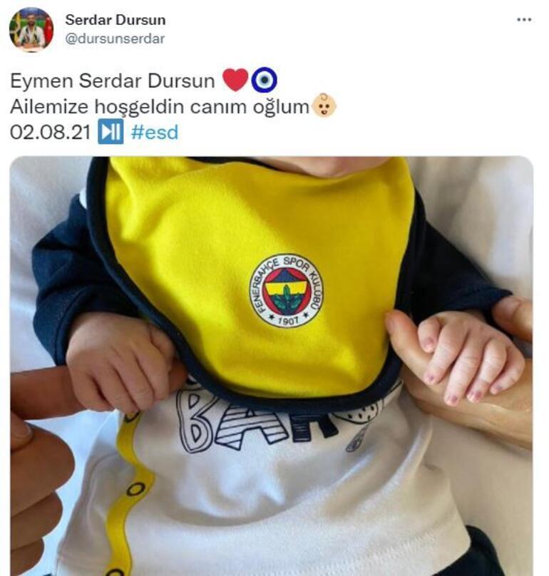 Son dakika - Fenerbahçeli Serdar Dursun baba oldu