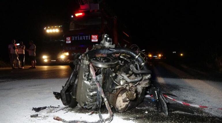 TIRın çarptığı otomobilin sürücüsü öldü