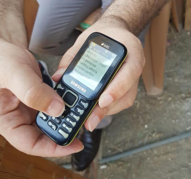 Ve başladı Manavgatta telefonlara mesaj geliyor