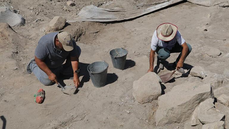 Tam 5 bin 500 yıllık Bizans ve Selçuklu döneminden kalıntılar...