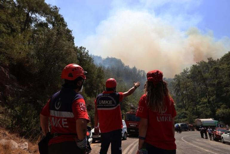 Son dakika haberi... Yangın kabusu 8. gününde Topyekûn mücadele sürüyor