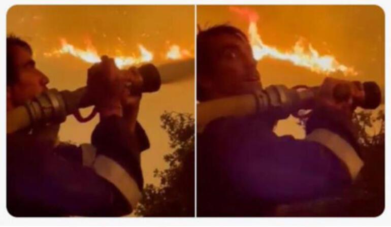 Oyuncu İbrahim Çelikkol kimdir İbrahim Çelikkol yangın söndürme çalışmalarında