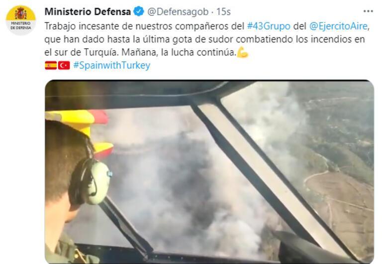 Son dakika... İspanyol pilotlardan Türkiye paylaşımı Havadan ilk görüntüler