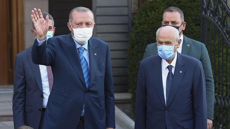 Son dakika: Cumhurbaşkanı Erdoğandan Bahçeliye sürpriz ziyaret