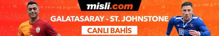 Galatasaray-St. Johnstone karşılaşması Tek Maç ve Canlı Bahis seçenekleriyle Misli.com'da