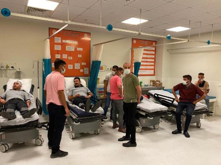 Maske uyarısı yapan hastane personelini dövdüler 8 yaralı