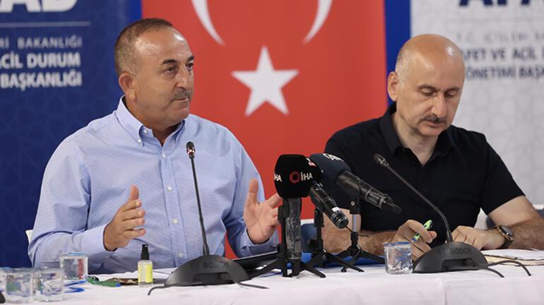 Son dakika: Bakanlar bölgede Çavuşoğlu umutluyuz diyerek duyurdu