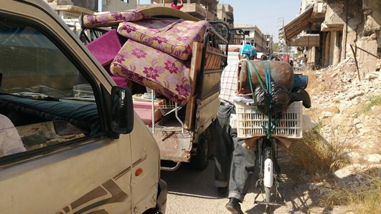 Suriyedeki bir mahallede sivillerin yüzde 80i evinden oldu