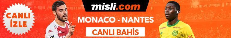 Monaco-Nantes maçı Canlı Bahis seçenekleriyle Misli.comda
