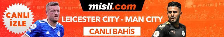 Leicester City - Manchester City maçı Tek Maç, Canlı Bahis ve Canlı İzle seçenekleriyle Misli.com'da