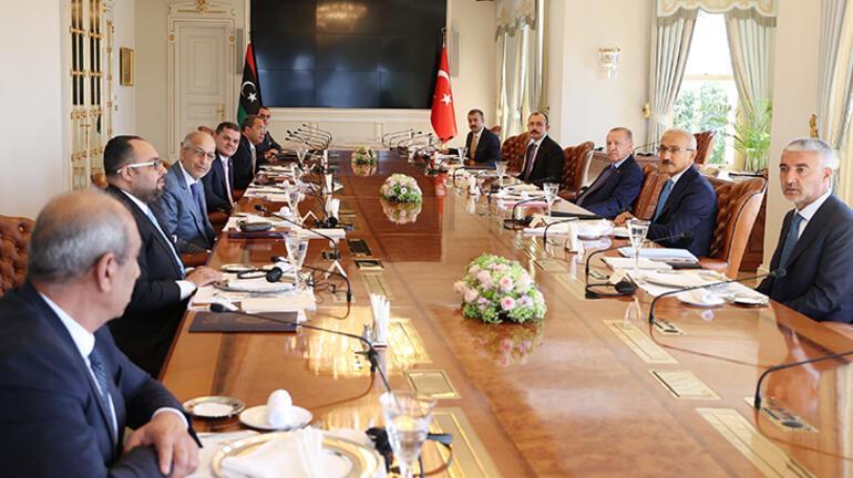 Cumhurbaşkanı Erdoğan, Libya Başbakanını kabul etti