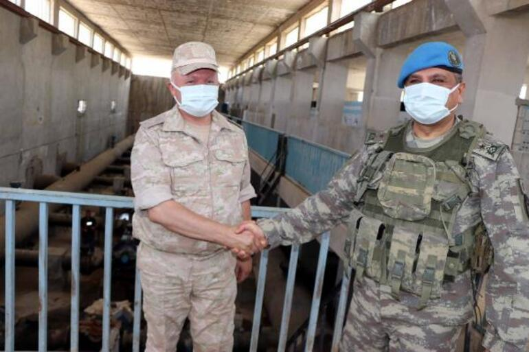 Teröristler tahrip etmişti Türk ve Rus yetkililer bölgede...